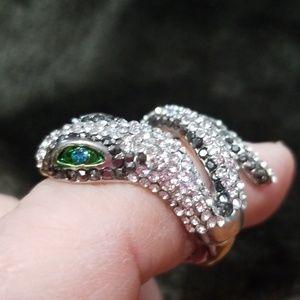Snake Stretch band ring
